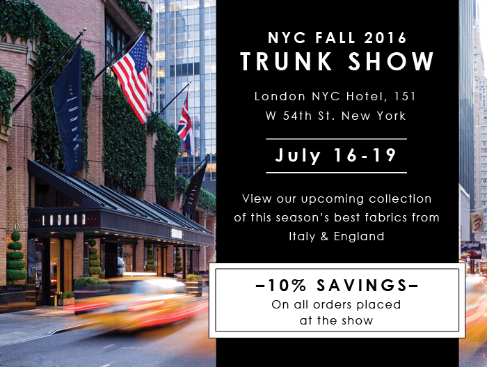 NYC Trunk Show 2016 fb