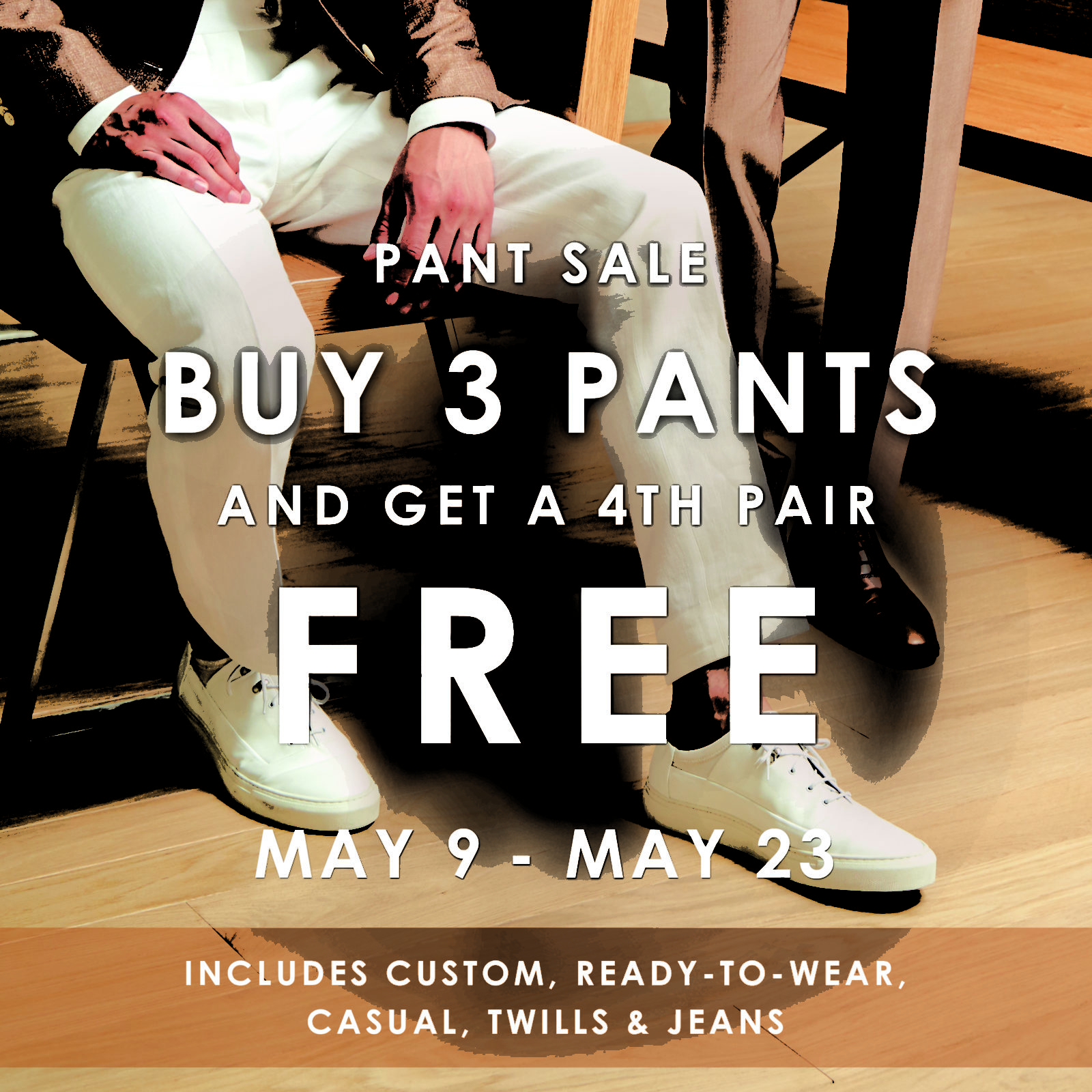 Pant Sale EventsandPress