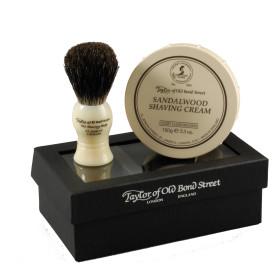 Black Box Gift Sets – Shaving Brush & Shaving Cream Bowl