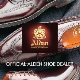 Alden Shoes – Call store for details on how to buy.
