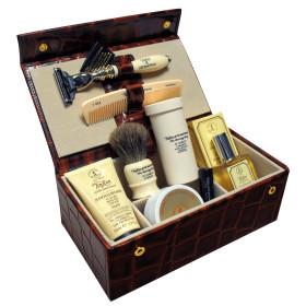 Luxury Leather Men's Grooming Box
